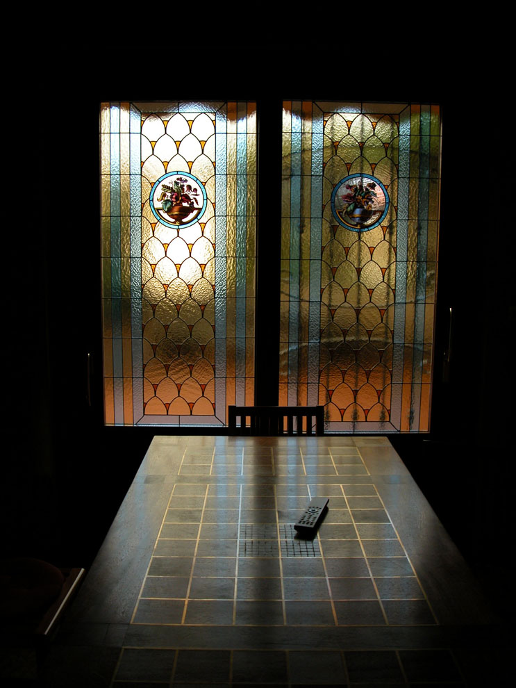 Vetrate per porte vetrate per finestre e divisori vetrate artistiche milano porte finestre - Finestre liberty ...