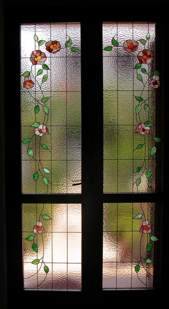 Vetrate per porte vetrate per finestre e divisori for Vetrate artistiche per porte interne