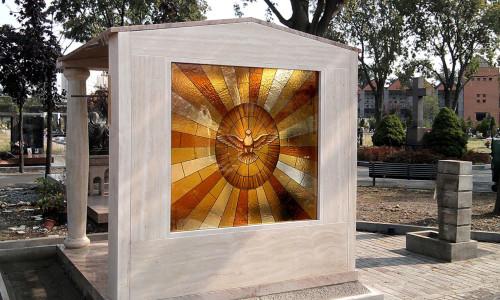 vetrata cappella