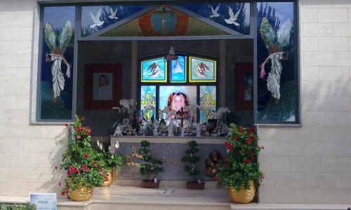vetrata sacra cappella